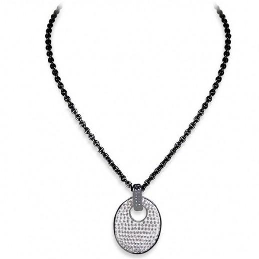 Lola & Grace Sparkle Disc Medium Pendant Necklace - delivered by Beidoun
