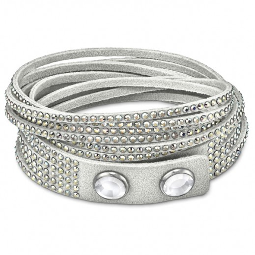 Lola & Grace Wrap Twist Strands Bracelet With Crystal - delivered by Beidoun Within 2 Working Days