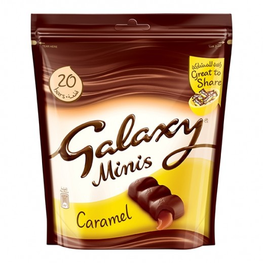 Galaxy Caramel Minis Chocolate 280 g