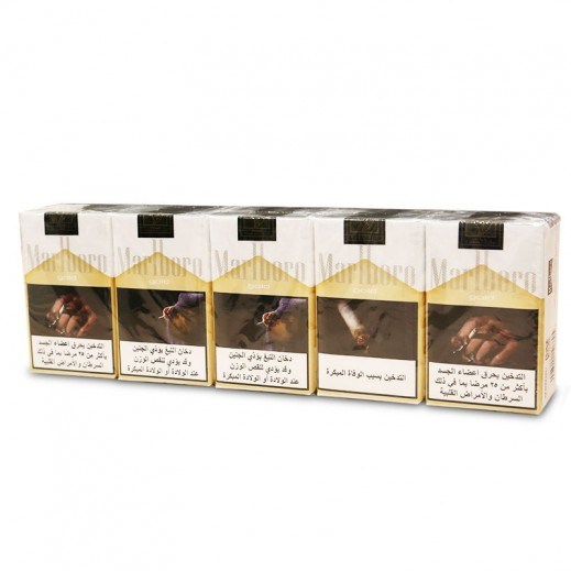 Marlboro Gold Soft King Size Cigarettes (Ctn)