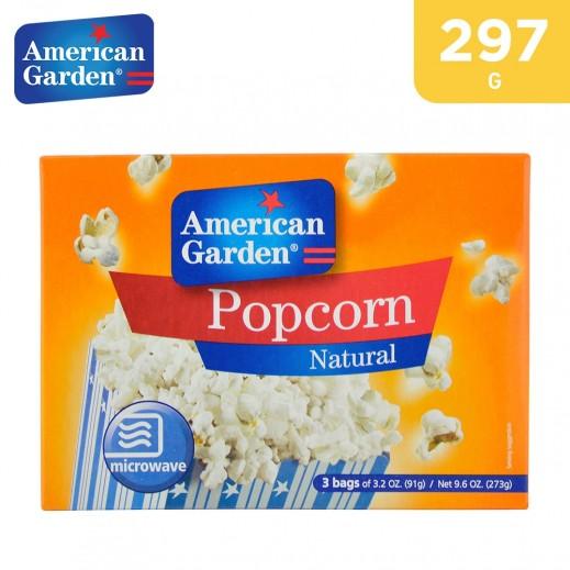 American Garden Microwave Popcorn 297 g