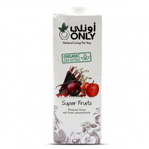 Only Organic Super Fruit Juice 1 L