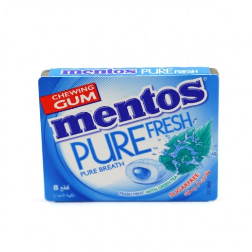 Mentos Sugar Free Pure Fresh Mint Gum 13.2 g