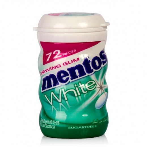 Mentos Sugar Free White Spearmint Gum 103 g