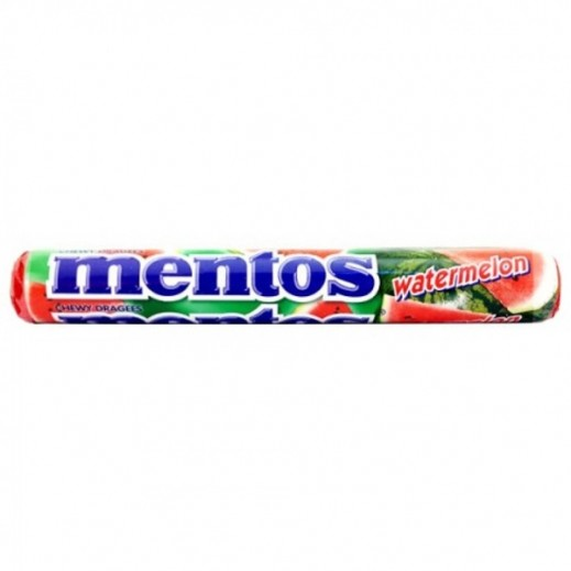 Mentos Water Melon Chewy Candy 29 g