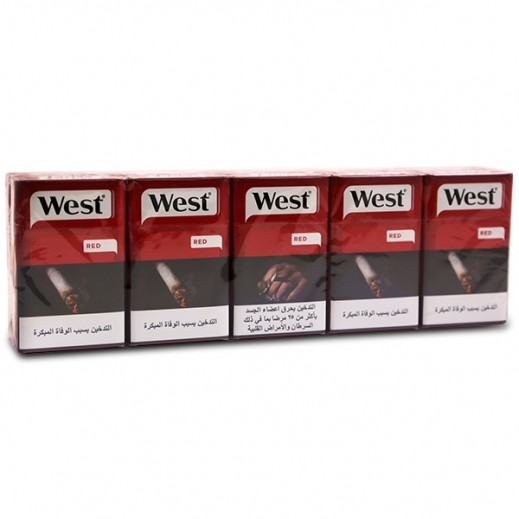 West Red Filter Cigarettes (CTN)