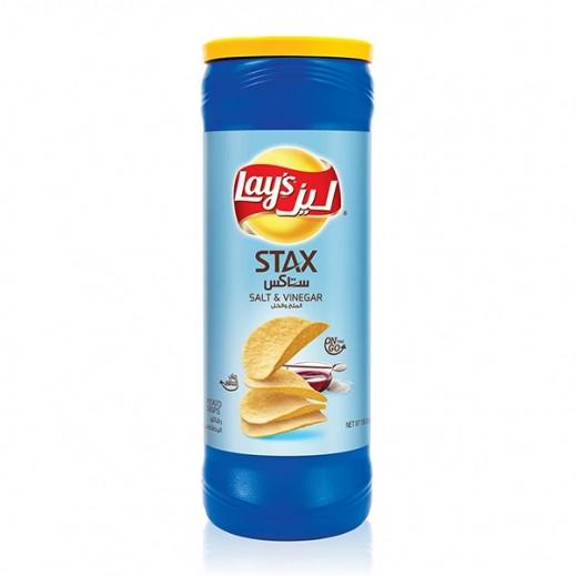 Lays Stax Salt  Vinegar Chips 155 g