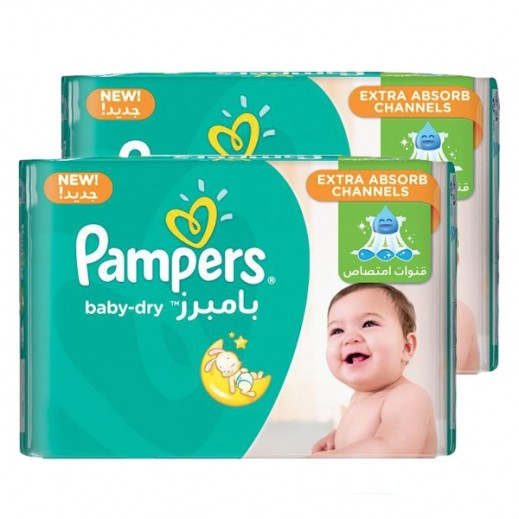Pampers Stage 4 Maxi (8-14 kg) 2 x 44 Pieces