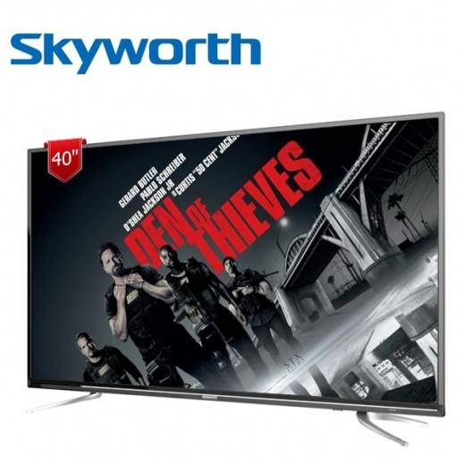 "Skyworth 40"" Wi-Fi Smart Full HD TV – Black - delivered by EASA HUSSAIN AL YOUSIFI & SONS COMPANY"