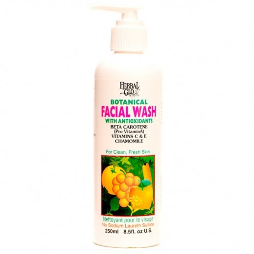 Herbal Glo Botanical Facial Wash 250 ml