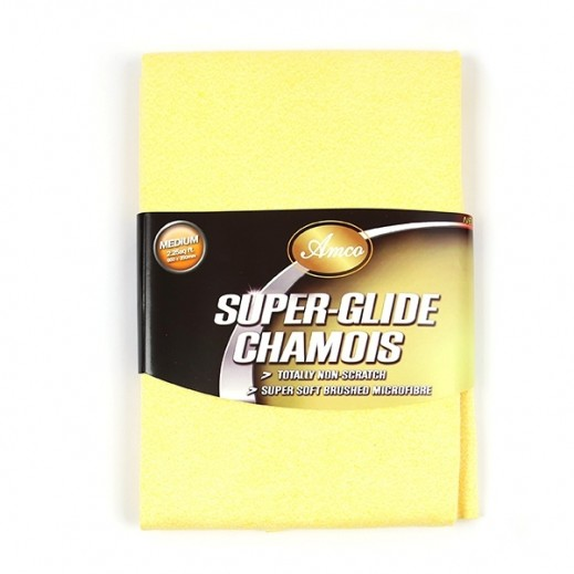 Amco Super-Glide Chamois Microfiber Cloth for Car Cleaning