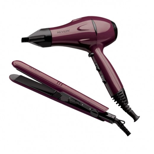 Revlon Frizz Control Styling Set Hair Dryer And Styler RVDR5230ARB