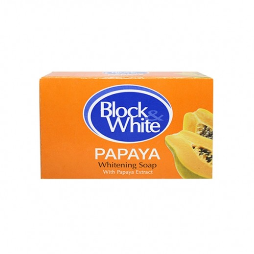 Block & White Whitening Soap Papaya 120 g