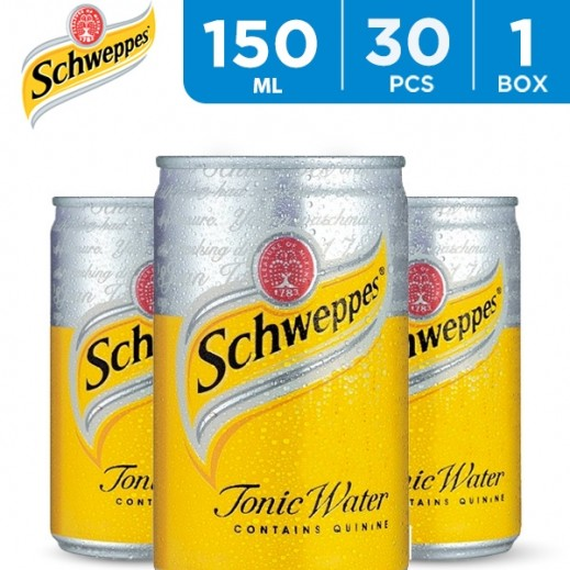 Schweppes Tonic Water Can 30 x 150 ml