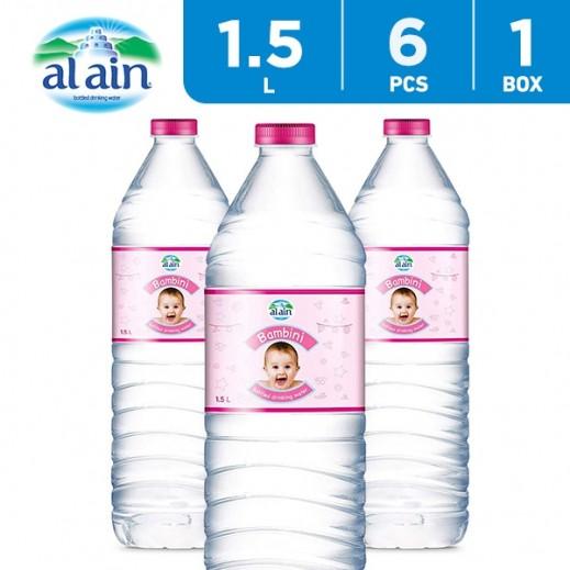 Al Ain Bambini Water 6 x 1.5 L