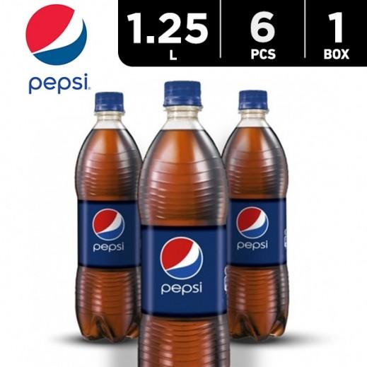 Pepsi Bottle 6 x 1.25 L