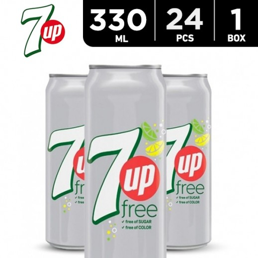 7up Diet Can 24 x 330 ml