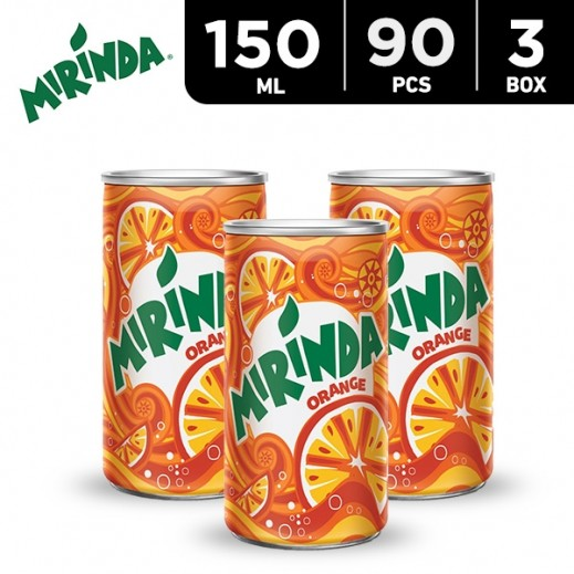 Mirinda Orange Can 150 ml (3x30 pieces)