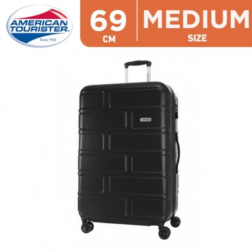 American Tourister Bricklane Spinner Luggage 46 x 31 x 69 cm Black