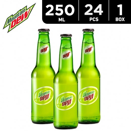 Mountain Dew Bottle Carton 24 x 250 ml