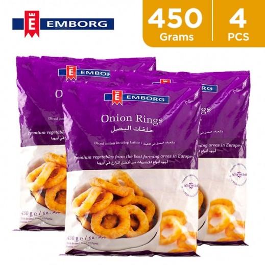 Emborg Frozen Onion Rings 450 g (4 Pieces)
