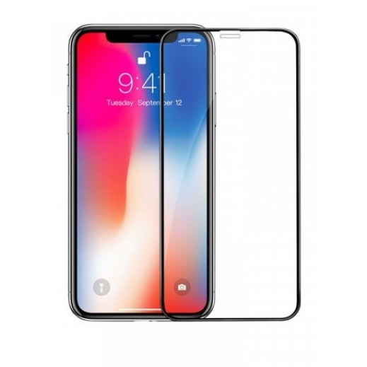 Hoco Shatterproof Full HD Screen Protector for iPhone X – Black