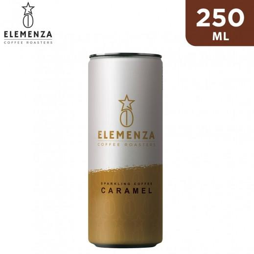 Elemenza Caramel Sparkling Coffee 250 ml