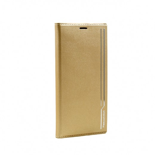 Peacocktion Leather Case for Galaxy Note8 – Gold