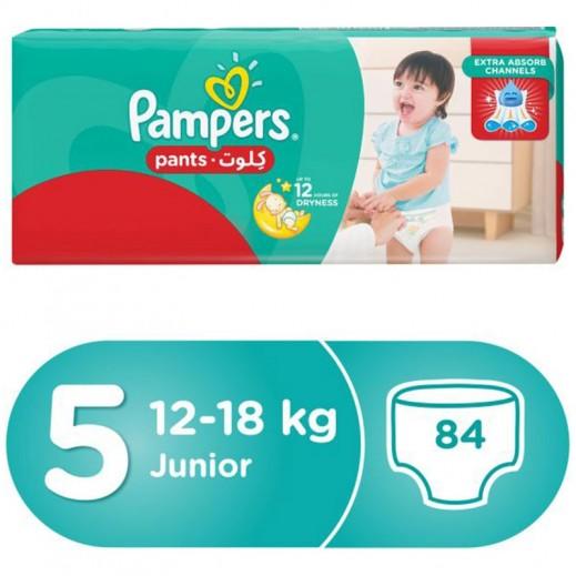 Pampers Pants Stage 5 (12-18 Kg) Junior Mega Box 84 Pieces