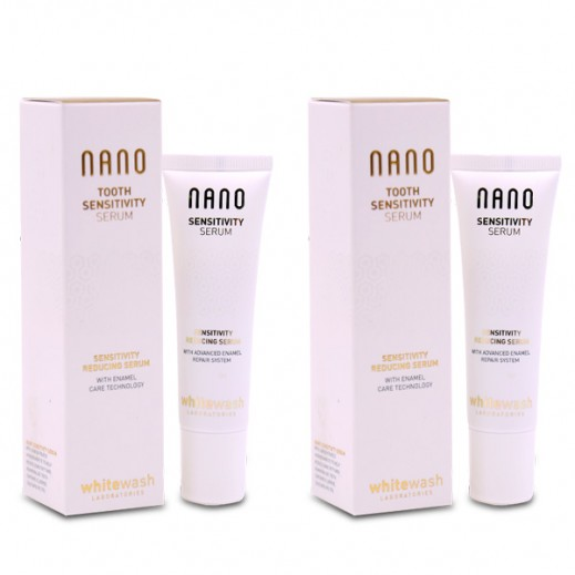 Whitewash Laboratories Nano Tooth Sensitivy Serum 30 ml (2 Pieces)