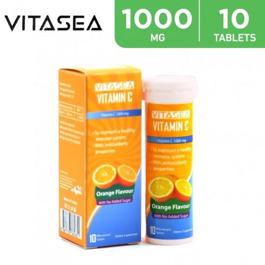 VitaSea Vitamin C Orange 10 Effervescent Tablets