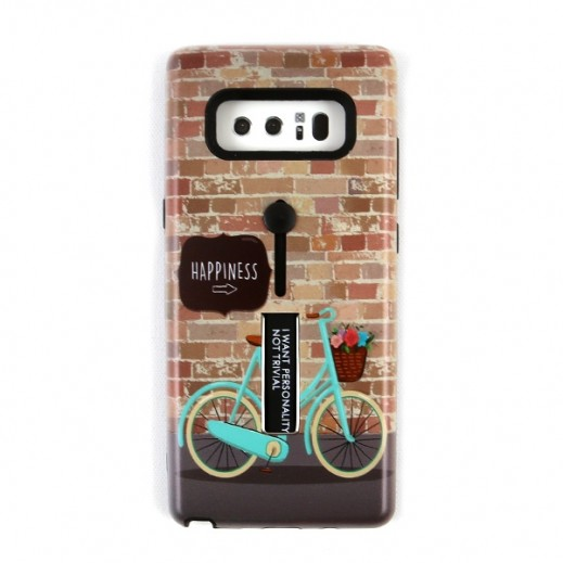 Boter Case & Holder for Samsung Note 8 – Bike & Happiness