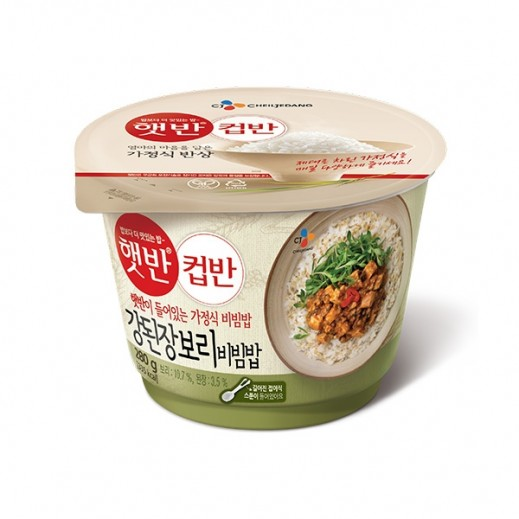Cheiljedang Instant Cooked Rice with Soybean Paste 280 g