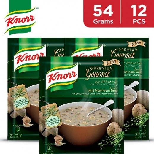 Knorr Packet Soup Wild Mushroom 12 x 54 g