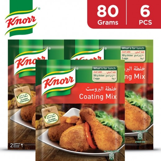 Knorr Side Dish Regular Coating Mix 6 x 80 g