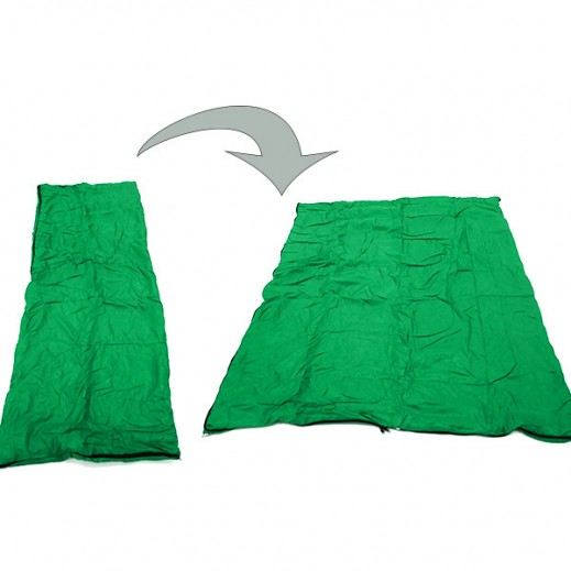 Chinese Sleeping Bag No 5 (250 x 80 x 50 cm ) - Olive