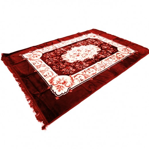 Dunia Chinese Carpet (200 x 300 cm) - Burgundy