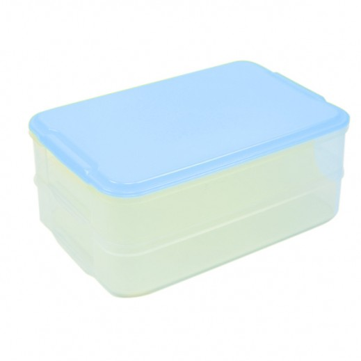 Varyag Stackable Storage Box Large Blue - 2 Pieces