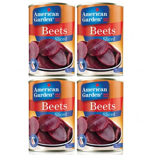 American Garden Beets Sliced 425 g (3+1 Free)