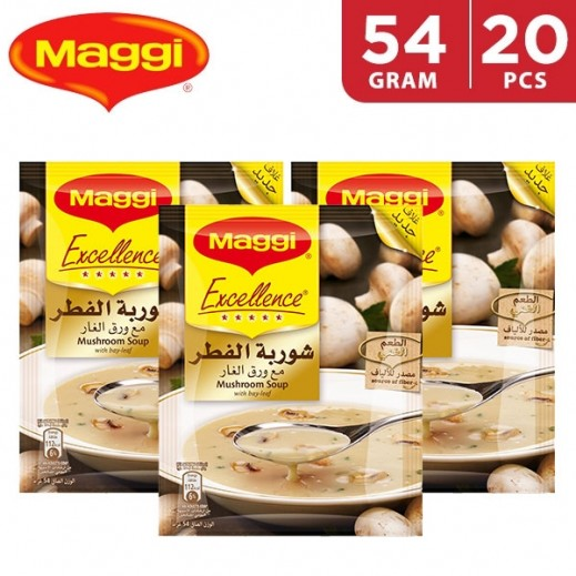 Maggi Soup Excellence Mushroom 20 x 54 g