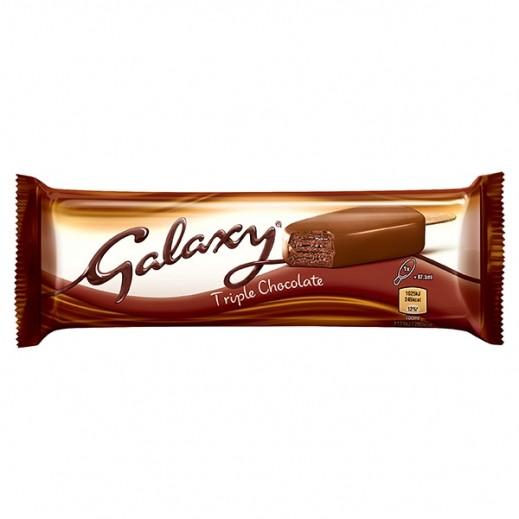 Galaxy Triple Chocolate Swirls Ice Cream 87.5 Ml