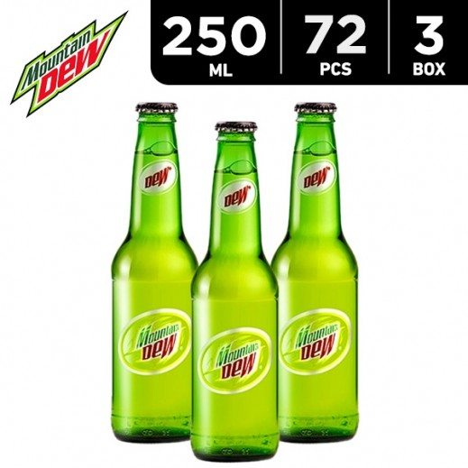 Mountain Dew Bottle 250 ml (3 x 24 pieces)