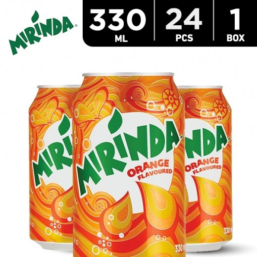 Mirinda Orange Can 24 x 330 ml
