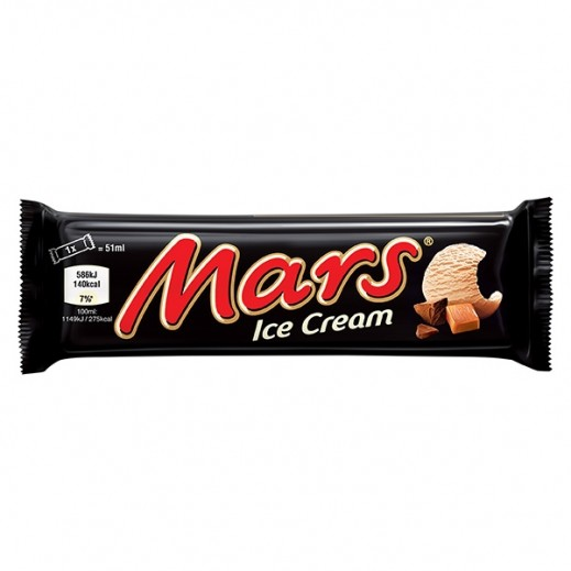 Mars Ice Cream Bars 51 ml