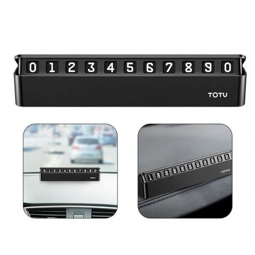 Totu Tick tock series temporary parking assistant - Black