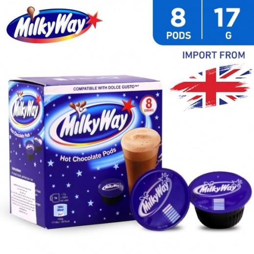 MilkyWay Hot Chocolate Capsules 8 x 17 g