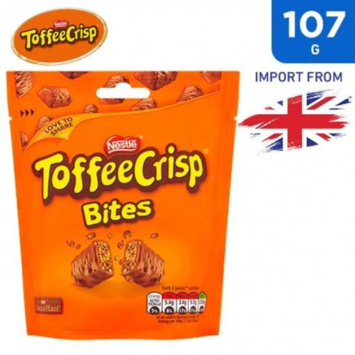 Nestle Toffee Crisp Bite 107 g