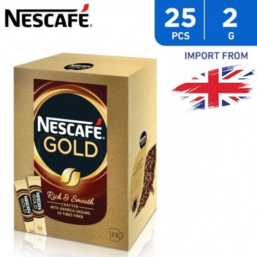 Nescafe Gold Rich & Smooth Coffee 25 x 2 g