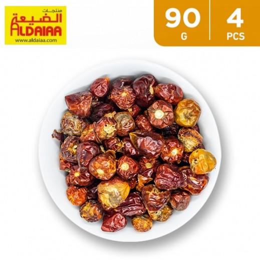 Aldaiaa Red Chilli Whole 4 x 90 g