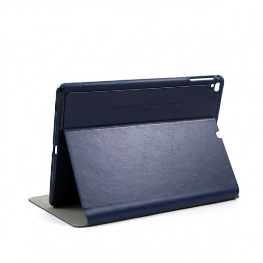 KAKUSIGA Leather Case for iPad Air – Blue